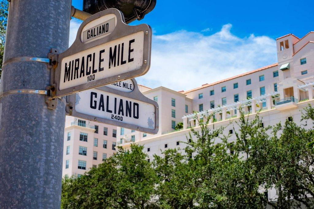 Miracle Mile in Coral Gables